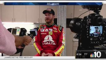 NASCAR Drivers Make Pit Stop in Dover