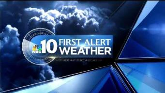 NBC10 First Alert Weather: Clouds Build