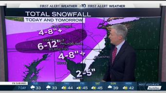 NBC10 First Alert Weather: Storm Races Into Region
