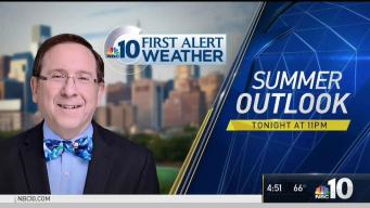NBC10 First Alert Weather: Long-Range Summer Outlook Preview