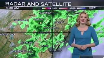 NBC10 First Alert Weather: Rain This Morning
