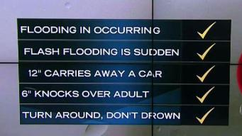 NBC10 First Alert Weather: Effects of Flash Flooding