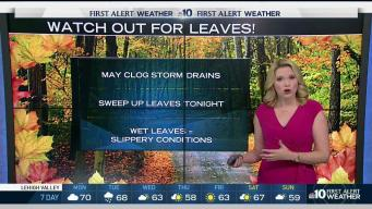 NBC10 First Alert Weather: Watch Out for Wet Leaves