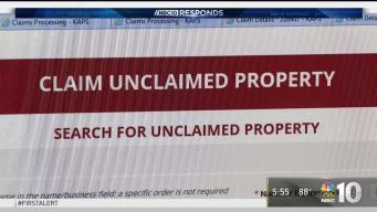NBC10 Responds: Unclaimed Property Warning