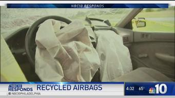 NBC10 Responds: Recalled Airbags Recycled