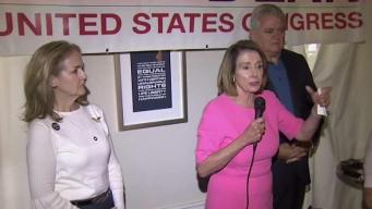 Nancy Pelosi Visits Battleground PA Before Midterms