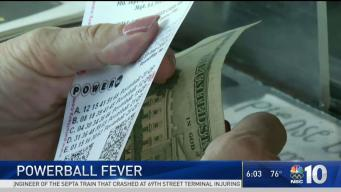 Near Record Jackpot For Powerball Lottery Drawing