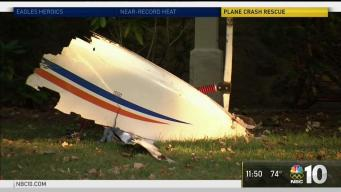 Neighbors Rush to Help Pilot in Small Plane Crash
