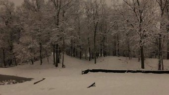 Snow Moves Out, Slippery Conditions Remain