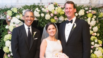 Obama Serves as Groomsman at Longtime Aide's Wedding