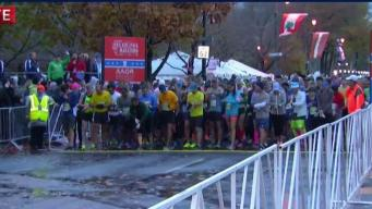 And They're Off! Philly Marathon Runners Race Through the City