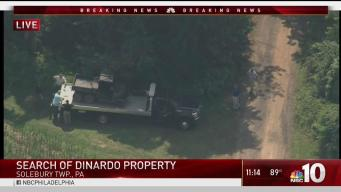 Philadelphia Police Search Bucks County Property