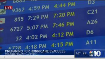 Philadelphia Prepares for Hurricane Maria Evacuees
