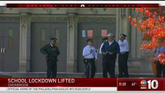 Philadelphia School Lockdown Lifted