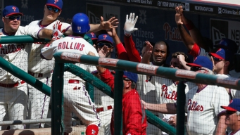 Lee, Rollins Help Phillies Sweep Nationals