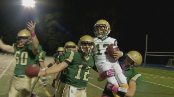 Boy Fighting Rare Disease Scores Touchdown at HS Game