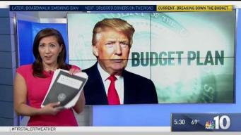 President Trump Lays Out Budget Proposal
