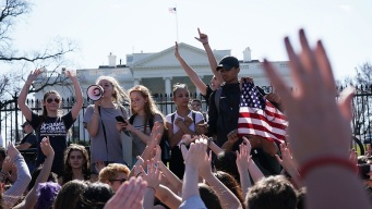 Students Demand Lawmakers Take Action on Gun Violence