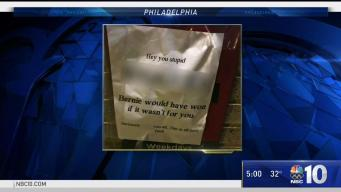 Racist Note found at Temple University