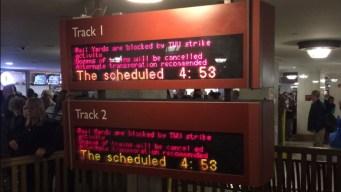 SEPTA: Regional Rail Service Disrupted by 'Strike Activity'