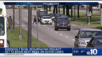 Roosevelt Boulevard Resurfacing Project Starts Next Week
