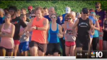 Runners Show Support for Victim of Sexual Assault at Park