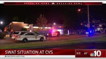 SWAT and Police Officers Surround CVS in Media