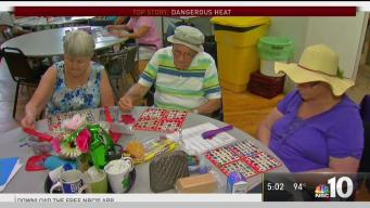Senior Citizens Keep Cool in Kensington