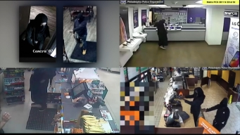 Armed Robbers Target Businesses in Philly, Delco