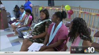 Special Graduation for Formerly Homeless Mothers