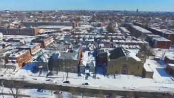 WATCH: Drone Video of Blizzard Aftermath in Philly