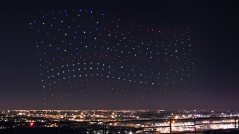 300 Drones Flew as 1 for Lady Gaga's Super Bowl Show