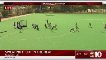 Local Sports Teams Deal With Heat and Humidity