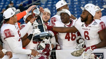 Temple Football Prepares for Military Bowl