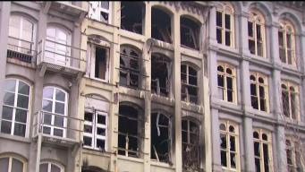 Old City Building Set for Demolition After Massive Fire