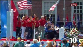 NBC10 Rides in Independence Day Parade