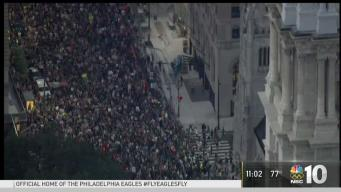 Thousands March Through Center City
