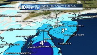 Snow to Impact Friday Morning Rush
