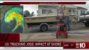 Tracking Jose: Impact at the Jersey Shore