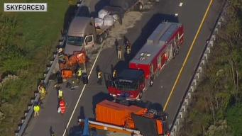 Crash Shuts Down I-495 in Delaware
