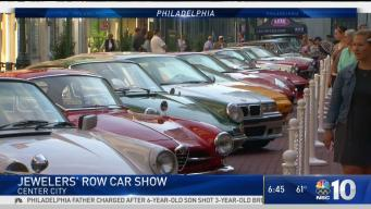 Students Use Classic Cars in Try to Save Jewelers' Row