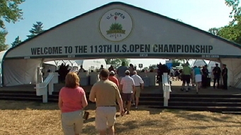 U.S. Open Volunteers and Nurses Prepare for Thursday Storms