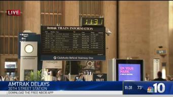 Up To Two Hour Delays On Amtrak