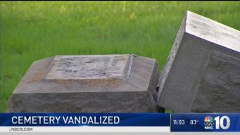 Vandals Target Philly Cemetery