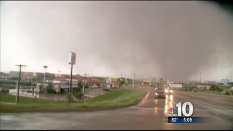 Oklahoma Meteorologist's Close Encounter With the Moore Tornado