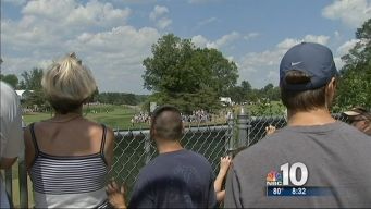 Locals Watch U.S. Open for Free