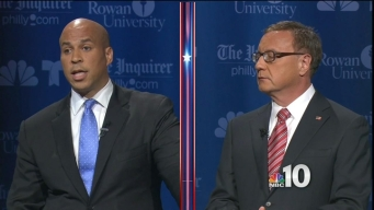 "Booker-Lonegan Debate: ""Bodies in the River"""