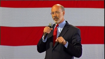 WATCH: Tom Wolf Speaks After Victory