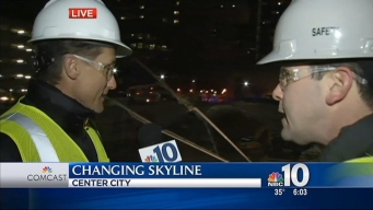 Concrete Poured at City's Newest Skyscraper