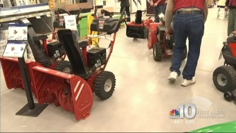 Storm Prompts Rush to Hardware Stores
